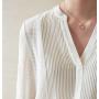 Блузка из натурального шелка BLU002