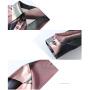 Блузка из натурального шелкового стрейч-атласа BLU003