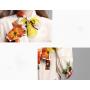Блузка из шелкового крепа BLU005