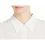 Блузка из шелкового крепа высокой плотности BLU010