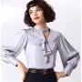 Блузка из шелкового крепа BLU012