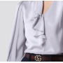 Блузка из шелкового крепа BLU012A