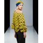 Блузка из шелкового крепа BLU012B