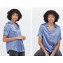 Блузка из натурального шелка BLU018B