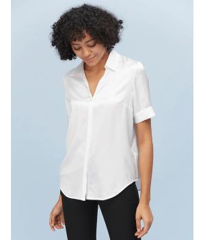 Блузка из натурального шелка BLU018C
