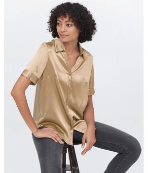 Блузка из натурального шелка BLU018