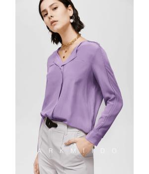 Блузка из шелкового крепа BLU019A