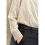 Блузка из шелкового крепа высокой плотности BLU031