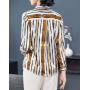 Блузка из натурального шелкового стрейч-атласа BLU035