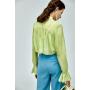 Блузка из шелкового шифона BLU038