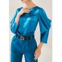 Блузка из шелка супер-высокой плотности BLU041