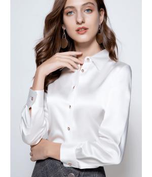 Блузка из шелка супер-высокой плотности BLU045