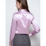 Блузка из шелка супер-высокой плотности BLU045A