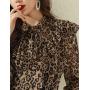 Блузка из шелкового шифона BLU047