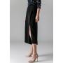 Юбка-брюки из двойного стрейч-крепа высокой плотности BRU013