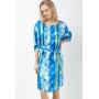 Домашнее платье из шелкового атласа DPL003