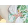 Халат шелковый с ручной росписью HAL019