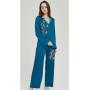 Пижама из натурального шелкового стрейч-атласа высокой плотности PIJ002