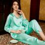 Пижама из натурального шелкового атласа PIJ002