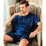 Пижама из натурального шелкового атласа PIJ004