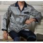 Пижама из натурального шелкового атласа PIJ005A