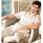 Пижама из натурального шелкового атласа PIJ005