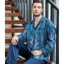 Пижама из натурального шелкового атласа PIJ007