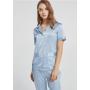 Пижама из натурального шелкового стрейч-атласа высокой плотности PIJ014