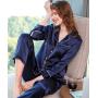 Пижама из натурального шелкового атласа PIJ014