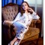 Пижама из натурального шелкового атласа PIJ015