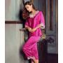 Пижама с кружевной отделкой PIJ016A