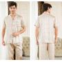 Пижама из натурального шелкового атласа PIJ023