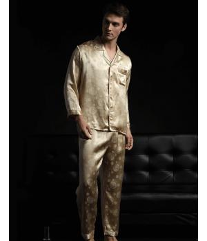 Пижама из натурального шелкового атласа PIJ024