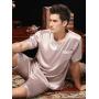 Пижама из натурального шелкового атласа PIJ025