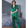 Пижама из натурального шелкового атласа PIJ026