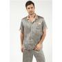Пижама из натурального шелкового атласа PIJ032