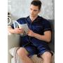 Пижама из натурального шелкового атласа PIJ036