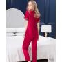 Пижама из натурального шелкового атласа PIJ039