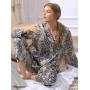 Пижама из натурального шелкового атласа PIJ040