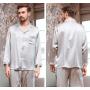 Пижама из натурального шелкового атласа PIJ051C