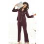 Пижама из натурального шелкового стрейч-атласа PIJ056
