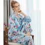 Пижама из натурального шелкового атласа PIJ056
