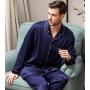 Пижама из шелкового атласа высокой плотности PIJ059