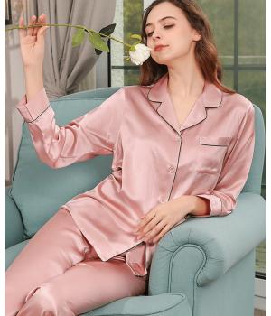 Пижама из натурального шелкового атласа PIJ062