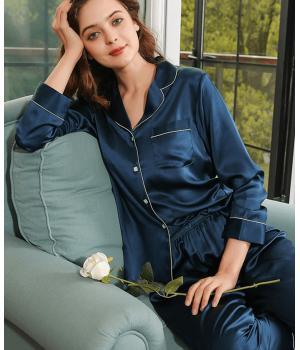 Пижама из натурального шелкового атласа PIJ062F