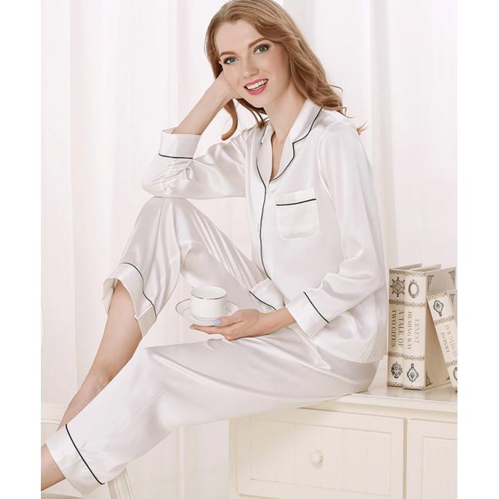 Пижама из натурального шелкового атласа PIJ062H