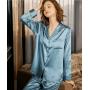 Пижама из натурального шелкового атласа PIJ062D