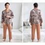 Пижама из шелкового атласа PIJ065A