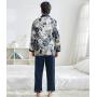 Пижама из шелкового атласа PIJ065B