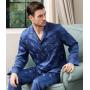 Пижама из шелкового атласа высокой плотности PIJ066
